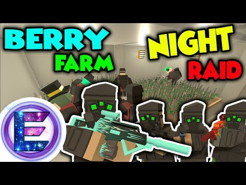 Special Forces RP - Berry farm NIGHT RAID - Big Berry BUST! - Unturned RP