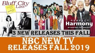 NBC new TV shows to be released fall 2019