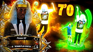 LEGEND made my 7'0 PLAYSTRETCH UNSTOPPABLE in NBA 2K20 • BEST BUILD & BADGES REVEALED