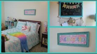 GIRLS ROOM TOURS - Mermaid Room & Paris Themed Rooms | Beingmommywithstyle