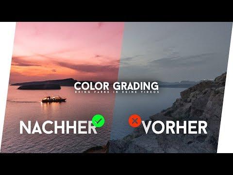 Das Geheimnis vom COLOR GRADING - So bearbeite ich meine Videos! (Final Cut Pro X)