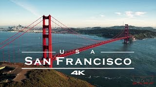 San Francisco, USA 🇺🇸 - by drone [4K]