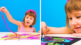 20 PAINTING TRICKS TO MAKE YOUR KID BUSY