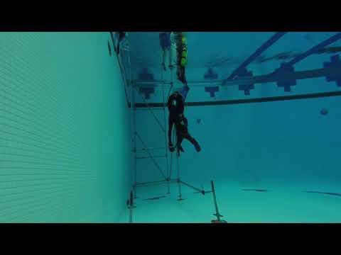 Greensboro Aquatic Center - Dive Well Scaffold