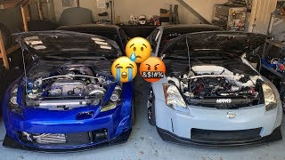 Supercharged 350z: that was unexpected🤔 well, not really😐