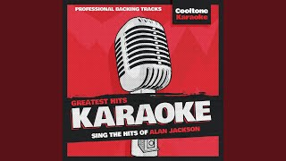 So You Don't Have to Love Me Anymore (Originally Performed by Alan Jackson) (Karaoke Version)
