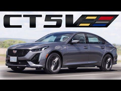 External Review Video 8Z4LRn6wdxc for Cadillac CT5 Sedan