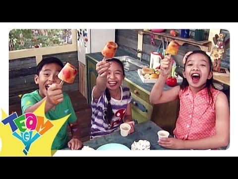 Snaks Naman: Fresh Fruits Popsicle   Team Yey