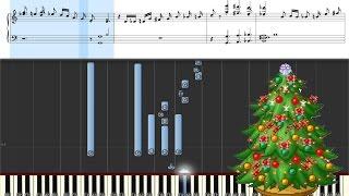 В лесу родилась ёлочка... Пианино. Правая рука. Учим Новогодние мелодии!
