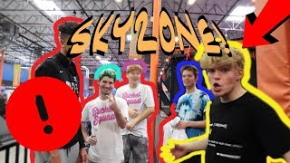 A Day At SKY ZONE With 2HYPE!