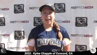 2022 Kylea Chapple Third Base and Outfield Softball Skills Video - Lady Wolfpack