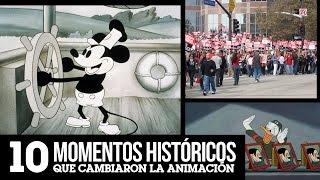 10 Momentos Históricos que Cambiaron la Animación | LA ZONA CERO