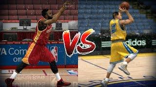 James Harden vs Stephen Curry - Half Court Challenge