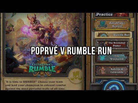 Poprvé v Rumble Runu