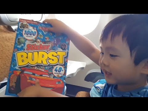 Activities For Kids On A Plane - Disney Cars Busy Book