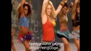 "Shakira ~ Waka Waka ""This Time For Africa"" (Lyrics Sub. English/Inglés) [HD] Official Video"