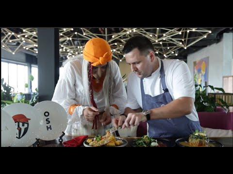 Battle of chefs in Dubai-part 1, Breakfast! `OSH` VS `Chalet Berezka`