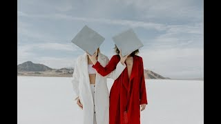 Editorial Photoshoot In The Salt Flats