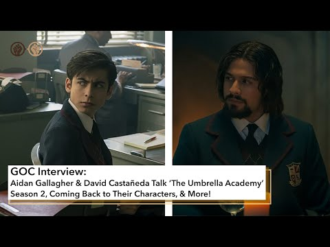 Aidan Gallagher and David Castaneda Talk Season 2 of 'The Umbrella Academy'