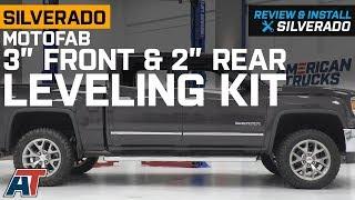 "Diff Drop 3.5/""+2/"" Lift Level Kit For 2014-2018 Chevy Silverado GMC Sierra 4WD"