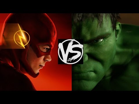 Download The Flash VS The Incredible Hulk...Who'd Win The Fight? A Flash Versus Hulk Death Battle Fight! HD Mp4 3GP Video and MP3
