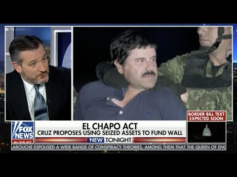 VIDEO: Sen. Cruz Discusses His EL CHAPO Act and Venezuela with Fox News' Shannon Bream
