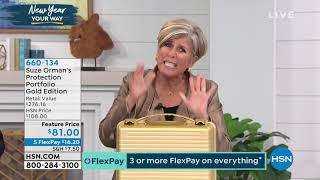 HSN | Suze Orman Financial Solutions for You 01.25.2020 - 11 PM