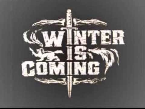 HBO Game of Thrones tribute song - Winter is Coming by the Flake - Lucanus Pell Man frum Hell