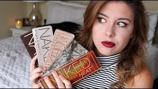 How To Pick An Urban Decay Naked Palette! // Which Palette Is Perfect For YOU?! - Video Youtube