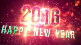 Happy New Year E-Cards, This animation is for the upcoming 2016 NYE worldwide countdown Happy New Year