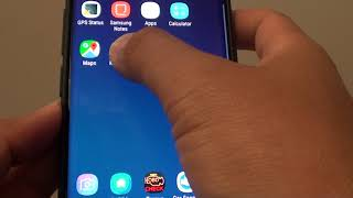 remove weather widget from home screen on Samsung Galaxy S9