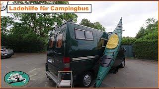 Kajak Ladehilfe für Campingbus