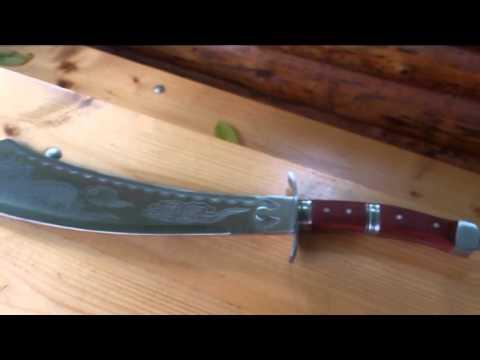 VIDEORECENZE - Mongolská mačeta, meč