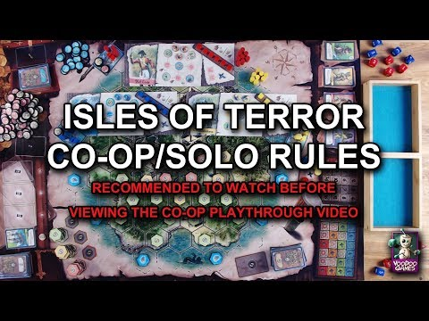 Isles of Terror #4 - Additional Co-op/Solo Rules