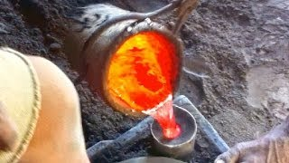 preview picture of video 'Artisanat malgache : fabrication de marmite aluminium à Madagascar'
