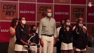Entrega de trofeos de la regata de vela 39ª Copa del Rey-Mapfre