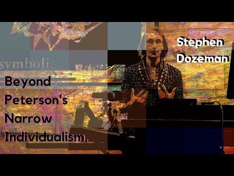 Mythic Individualism - Stephen Dozeman on Jordan Peterson (#JPCON)