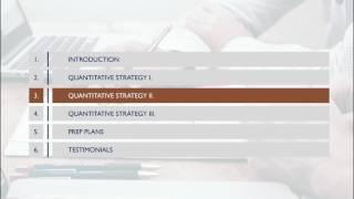 GMAT Tutorial - 3 Proven Quantitative Strategies