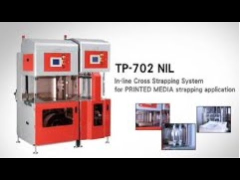 Inline Cross Strapping System | TP-702NIL | From Trio Packaging Systems
