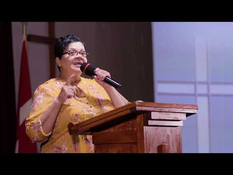 """There is power and protection in the Blood"" with Pastor Jean Tracey"