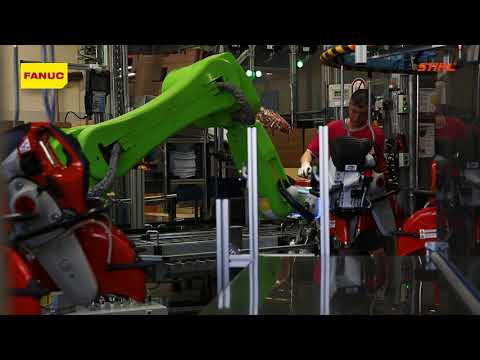 Success Strories: STIHL is taking a new path with FANUC's Collaborative Robot