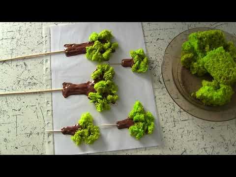 Как создать бисквитный мох