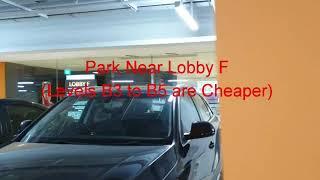 Jewel Changi Airport # Parking Spot When Watching Movies