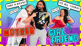 GIRLFRIEND vs MOTHER: I *SEDUCE* MY BF IN FRONT OF HIS MOM 😳