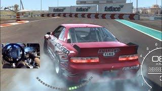GRID Autosport DRIFTING On A Wheel 900° -ONE BIG ISSUE..