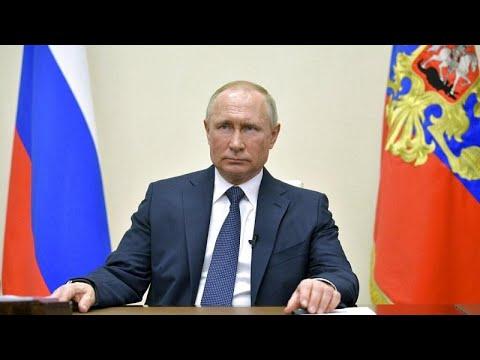 Πούτιν: Παράταση στην μη εργάσιμη περίοδο με καταβολή του μισθού, έως και τις 30 Απριλίου…
