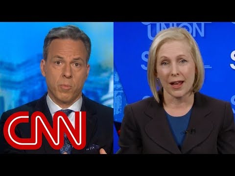 Tapper to Gillibrand: You've called Trump's comments racist. How about yours? (видео)