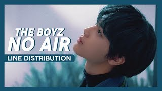The Boyz (더보이즈) - No Air [LINE DISTRIBUTION]