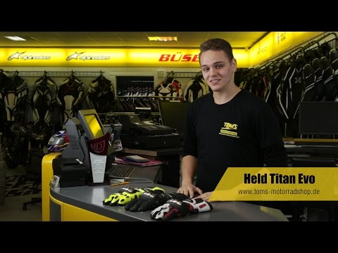 Held Titan Evo - Motorradhandschuh Test 2015