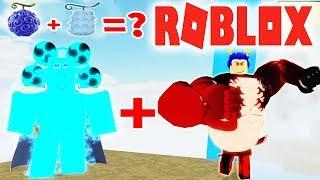Roblox - Kết Hợp Sức Mạnh Gear 4 BOUNCE-MAN Của Gomu Và Biến Khổng Lồ Của Goro - Ro-Piece